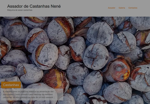 Assador de Castanhas Nené-Website
