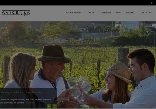 Avicella Wines-Website