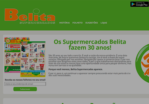 Belita-Website