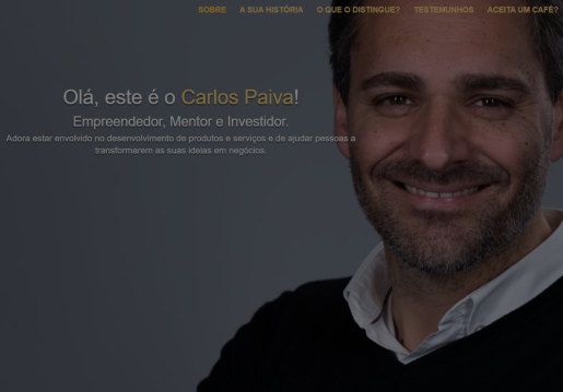 Carlos Paiva-Website