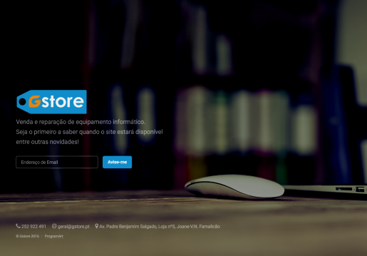 Gstore-Landing Page