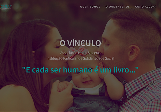 O Vínculo-Website