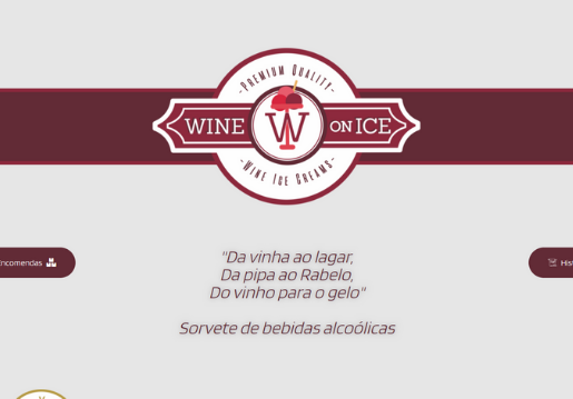 Wine on Ice-Website